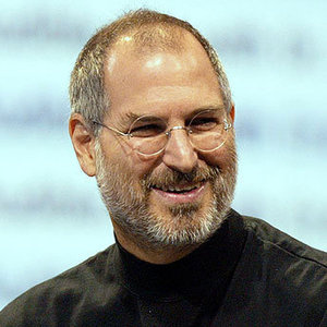 Steve Jobs - An inspirational leader, business legend and marketing genius.