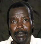 Joseph Kony is the leader of the LRA (Lord's Resistance Army) who is at the top of the International Criminal Court's top 10 list of wanted fugitives.
