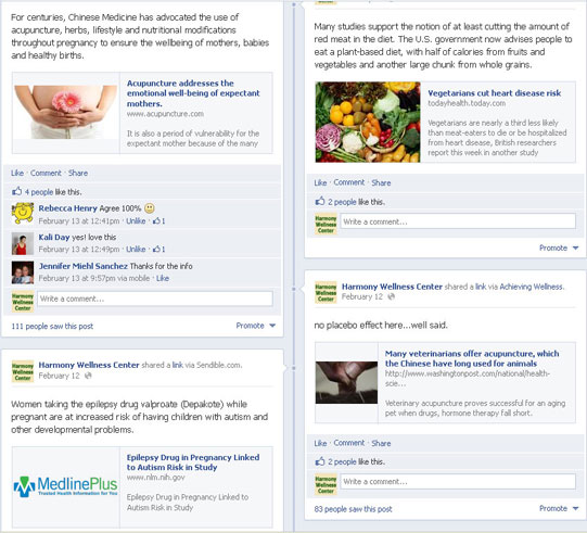 Facebook Social Media Marketing for Acupuncturists