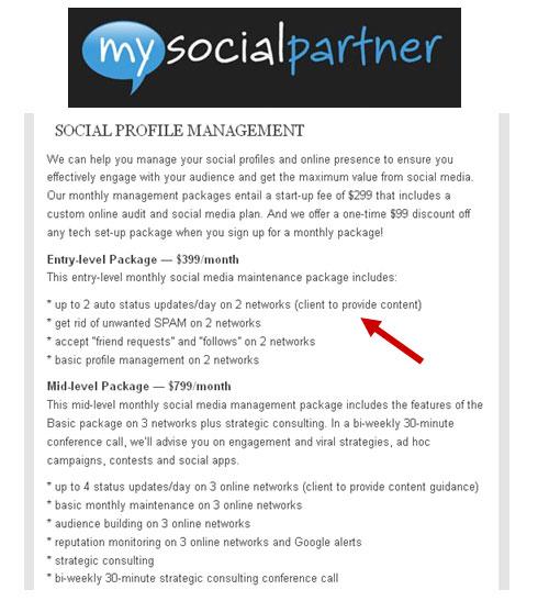 Social Media Firm