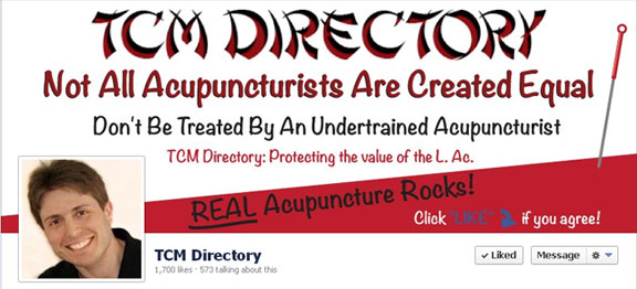 TCM Directory for Licensed Acupuncturists